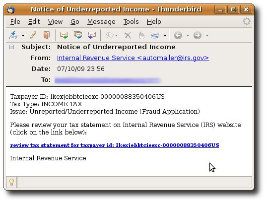 Zbot using IRS scam - Naked Security