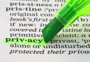 Privacy defined image