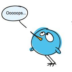 twitterbird ooops