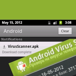 Fake anti-virus disguises used by Android malware