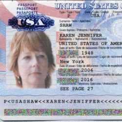 Passport email scam