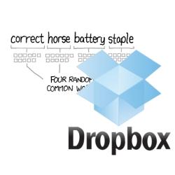 Correcthorsebatterystaple - the guys at Dropbox are funny