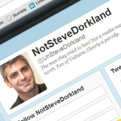 @UnSteveDorkland Twitter spoofer accused of hacking newspaper group