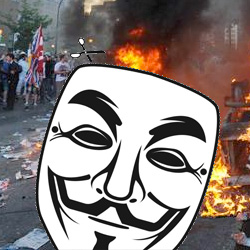 Masks banned in Canadian riots