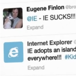 Internet Explorer sucks less than it used to, claims Microsoft