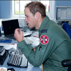 Prince William photos accidentally reveal RAF password