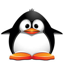 Ubuntu users, relax: the gun-toting penguin says s/he means no harm
