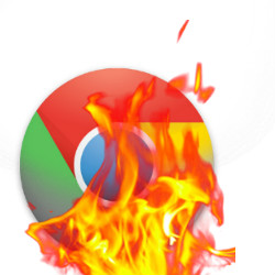 Chrome burns