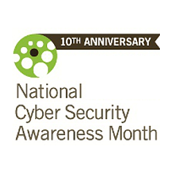 National Cyber Security Awareness Month - let's all do our bit to help