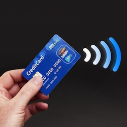 Researcher intercepts contactless payment data from a metre away
