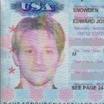 Edward Snowden passport