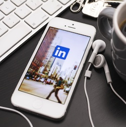 LinkedIn's iPhone 'Intro' tool goes outro. Image Twin Design / Shutterstock