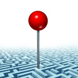 Maze. Image courtesy of Shutterstock.