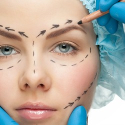 Cosmetic surgery. Image courtesy of Shutterstock.