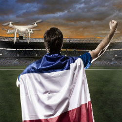 """France buzzed by World Cup """"spy drone"""""""