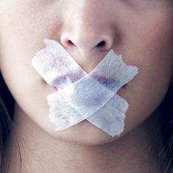 Silence. Image courtesy of Shutterstock.