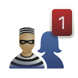 Alleged robber tries to befriend his victim on Facebook
