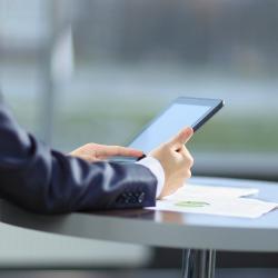 Tablet. Image courtesy of Shutterstock.