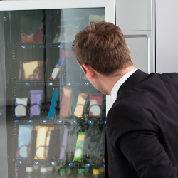 Say hello to spying vending machines!