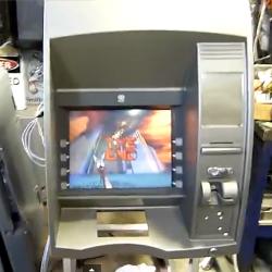 ATM gets turned into 'Doom' arcade game