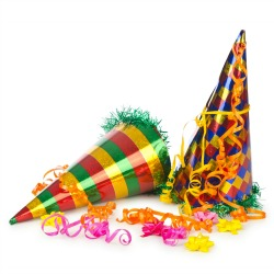 Party hats. Image courtesy of Shutterstock