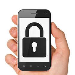 Locked phone. Image courtesy of Shutterstock