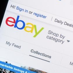 Ebay. Image courtesy of Radu Bercan/Shutterstock.com