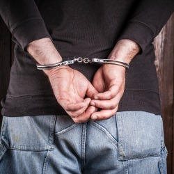 Handcuffs. Image courtesy of Shutterstock