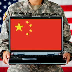 China hacks US military contractors