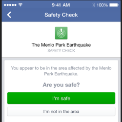 Facebook's new Safety Check lets you tell friends you're safe when disaster strikes