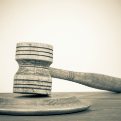 Gavel. Image courtesy of Shutterstock