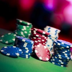 Poker chips. Image courtesy of Shutterstock