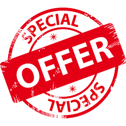 Special offer. Image courtesy of Shutterstock