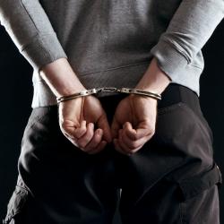 Arrest. Image courtesy of Shutterstock.