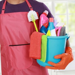Cleaning products. Image courtesy of Shutterstock.