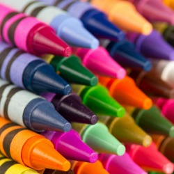 Crayons. Image courtesy of Shutterstock.