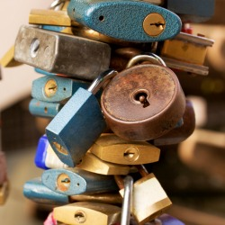 Padlocks. Image courtesy of Shutterstock.