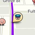 Police alert on Waze