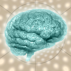 Image of psychedelic background brain courtesy of Shutterstock.