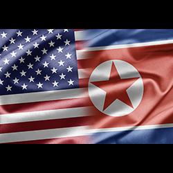 US and North Korea. Image courtesy of Shutterstock.