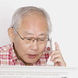 "Old-school landline phones protect Japan's elderly from ""it's me"" scammers"