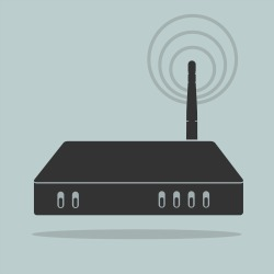 Router. Image courtesy of Shutterstock.