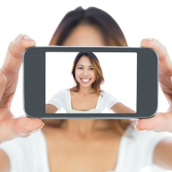 Selfie. Image courtesy of 360b/Shutterstock.