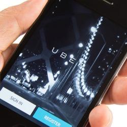 Uber. Image courtesy of MAHATHIR MOHD YASIN/Shutterstock.