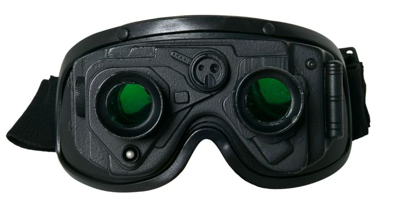 Night vision goggles. Image courtesy of Shutterstock.
