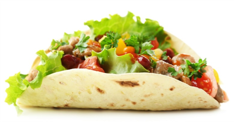 Mexican food. Image courtesy of Shutterstock.