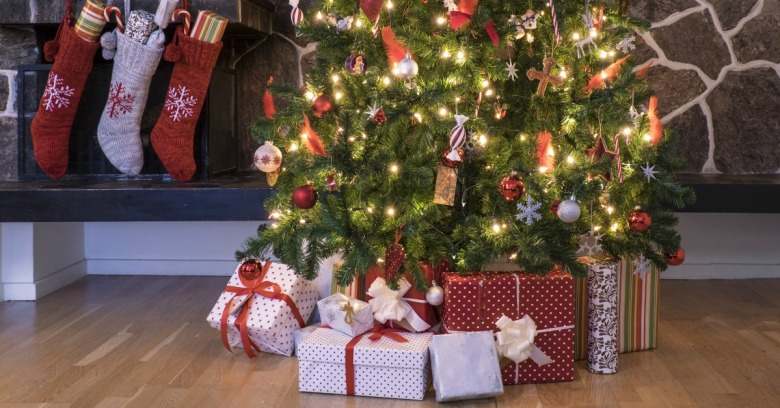 Christmas tree. Image courtesy of Shutterstock.
