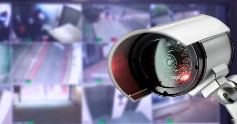 Image of a cctv camera