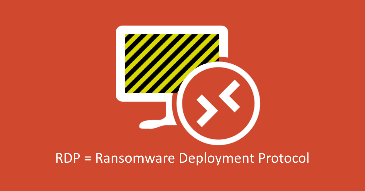 Ransomware Spreading Hackers Sneak In Through Rdp Naked Security