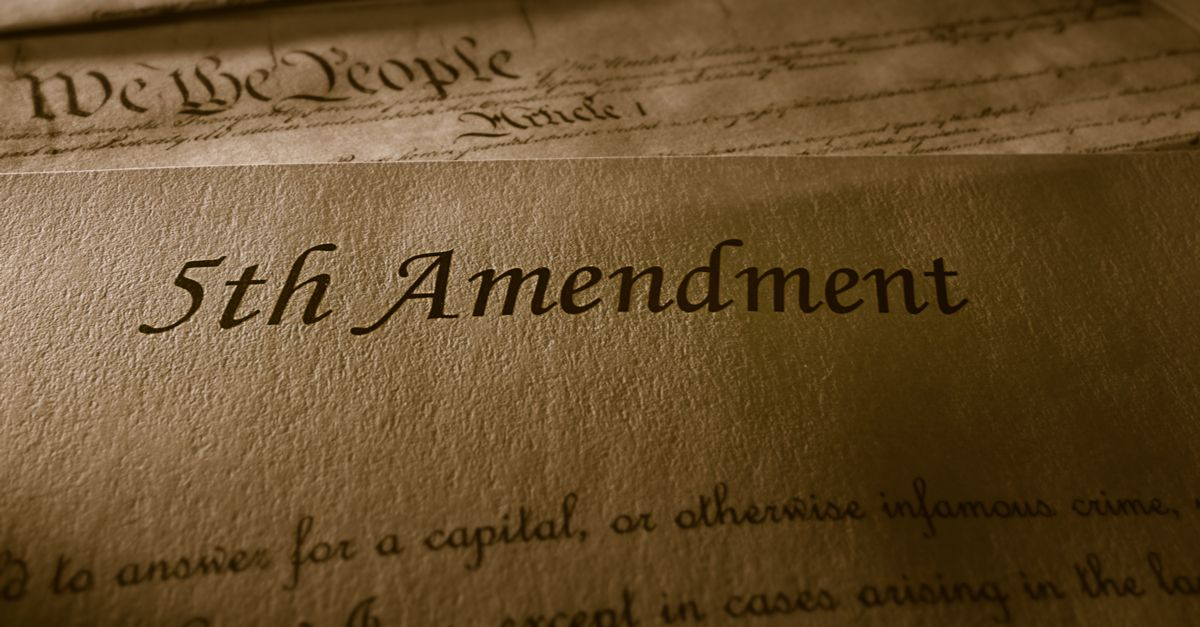 Image result for fifth amendment